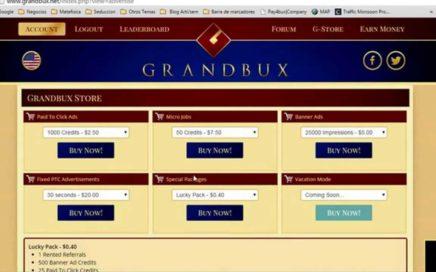 VIDEO 3: GRANDBUX | Alquiler de referidos GRANDBUX | Ganar Dinero Online