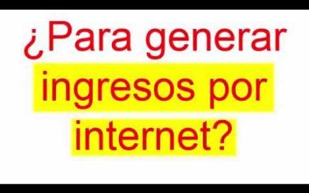 VIDEO Gana Dinero por Internet 2017/2018