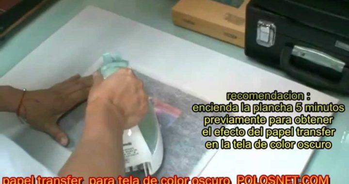 VIDEO TUTORIAL,  GANAR DINERO, ESTAMPADOS CON PAPEL TRANSFER