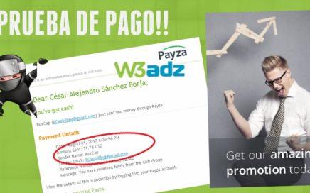 W3ADZ - ! PAGODE $1.78 DOLARES ! COBRADOS POR PAYZA | GANAR DINERO DESDE CASA POR INTERNET