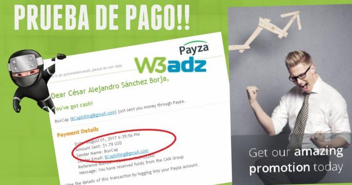 W3ADZ - ! PAGODE $1.78 DOLARES ! COBRADOS POR PAYZA   GANAR DINERO DESDE CASA POR INTERNET