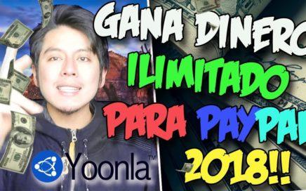 YOONLA , GANA DINERO PARA PAYPAL DE FORMA ILIMITADA | Gana dinero con tu tu SmarthPhne