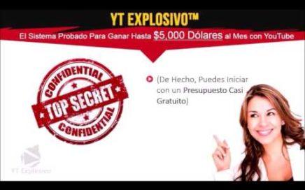 Youtube Explosivo - Como Ganar Dinero Extra