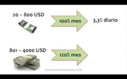 ZEWANG| Presentación de Como Ganar Dinero Rápido y Facil