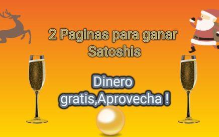 2 Paginas para ganar satoshis - Gana dinero desde casa