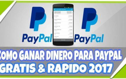 2017 Ganar Dinero Por Internet Rápido y Seguro   Más de $1000 Dólares en PayPal  2017