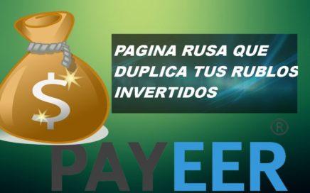 2DO PAGO DE ESTA PAGINA SIN HACER NADA DUPLICA TUS RUBLOS INVERTIDOS!!!