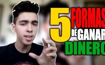 5 FORMAS DE GANAR DINERO POR INTERNET GRATIS
