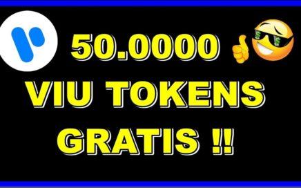50.0000 VIU TOKENS GRATIS SOLO POR REGISTRARTE !! VIULY PARECIDA A YOUTUBE !! APROVECHA.