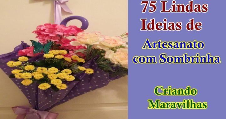 75 Lindas Ideias de Artesanato com Sombrinha - Criando Maravilhas