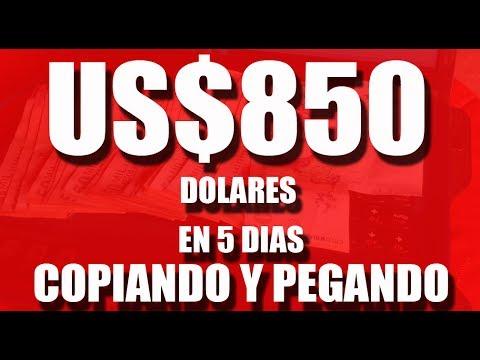 $850 DOLARES GANADOS EN 5 DIAS COPIANDO Y PEGANDO PUBLICIDAD CON HACIAARRIBA