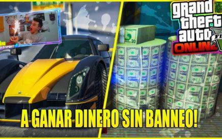 A GANAR DINERO SIN BANEO GRACIAS A LO NUEVO QUE HAN METIDO EN GTA V ONLINE 1.42!