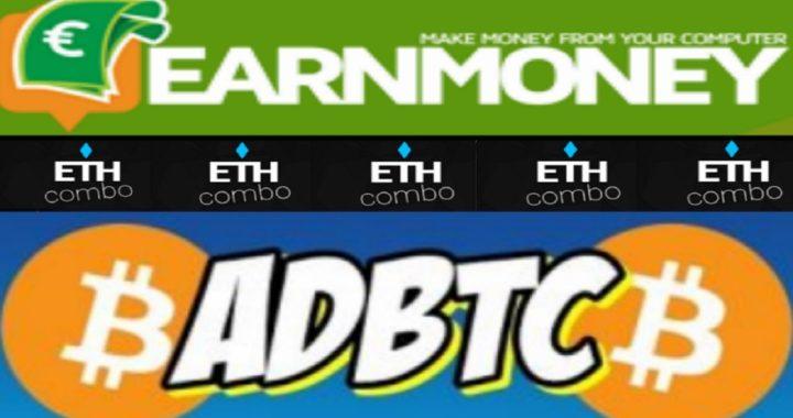 AdBTC GANA 20000 SATOSHIS - EARN MONEY NETWORK - ETHCOMBO NOTÍCIAS