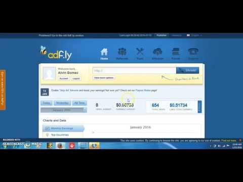 Adfly como usar adfly para ganar dinero rapido 2016