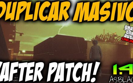 AFTER PATCH - DUPLICAR COCHES MASIVO - GTAV Online 1.41 - DINERO INFINITO BRUTAL - (PATCHED)