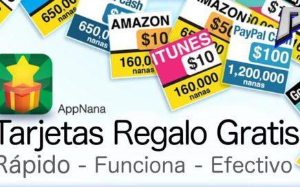 AppNana - Gana dinero rápidamente, funciona 100%. Tarjetas Regalo Gratis!! | PilotoF-22