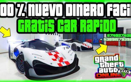 """""""APROVECHA"""" EL !BUG! *GRATIS* CAR FREE NUEVO DINERO RECIENTE FÁCIL Y RAPIDO GTA 5 ONLINE"""
