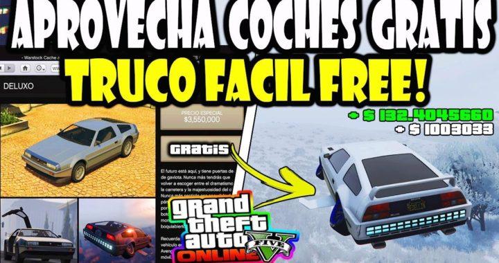 """""""APROVECHA"""" EL *ERROR* TRUCO TENER car FRE GRATIS SUPER FACIL  gta 5 online"""