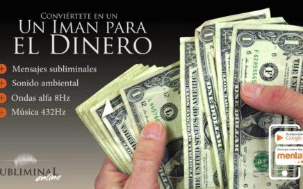 ¡ATENCIÓN! Audio subliminal extremadamente poderoso. Atrae dinero a tu vida.
