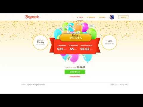 Baymack  2017 - gana dinero viendo solo videos