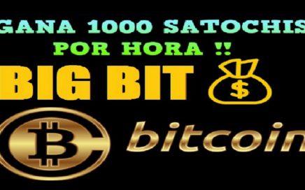 BIGBIT.ME   GANA 1000 SATOCHIS POR HORA - HERMANA FAUCETPIG + $10.00 GRATIS EN COINBASE