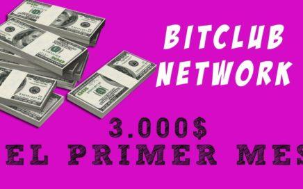 Bitclub Network en Español. Mira Cómo Gané 2812$ el Primer Mes