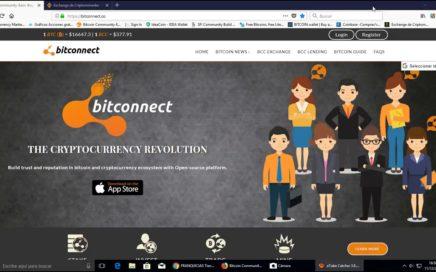 Bitconnect, no es scam!!!!!  Gana dinero a diario.