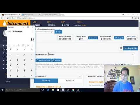 BITCONNECT Tutorial en español  Como ganar dinero desde casa sin hacer nada con una pequen