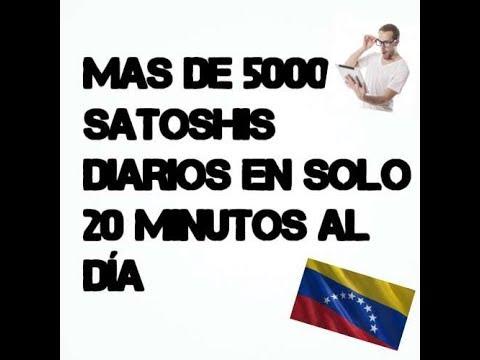 BITS2U 4000 SATOSHIS AL DÍA SÓLO EN 20 MINUTOS GRATIS SIN INVERTIR