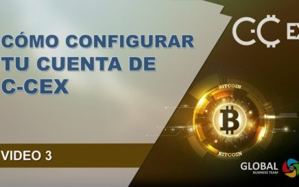 Como Configurar Tu Cuenta De Exchanger En C-CEX | VÍDEO 3