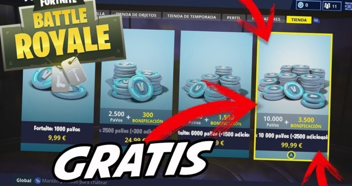 Como conseguir pavos gratis en Fortnite//Hack Ps4, Pc, XboxOne