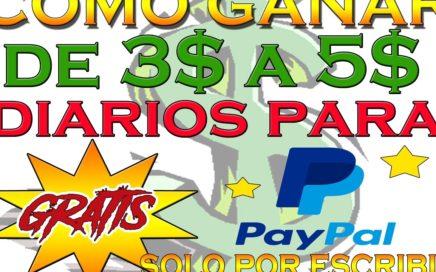 Como Ganar de 3$ a 5$ dolares DIARIOS SOLO POR ESCRIBIR - VENEZUELA COMPARTE