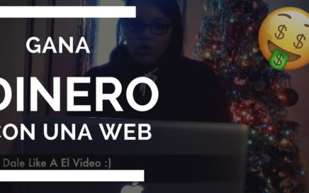 COMO GANAR DINERO CON UNA PAGINA WEB 2018| Ganar Dinero Online |  Audrey Millan