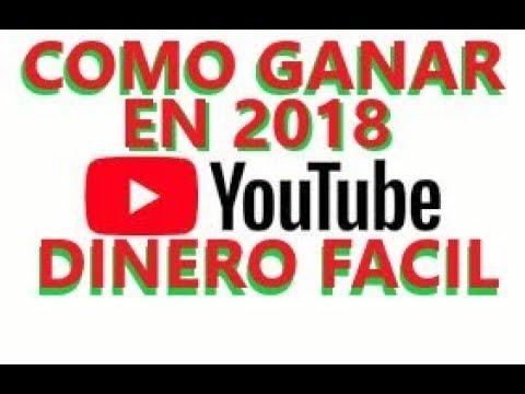 COMO GANAR DINERO CON YOUTUBE/GANAR DINERO POR INTERNET FACIL RAPIDO/BITCOIN/CRIPTOMONEDAS EN 2018