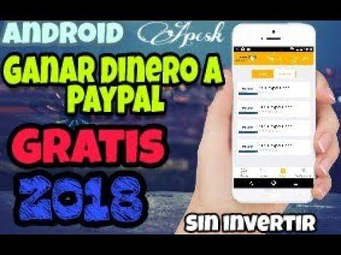 Como Ganar Dinero en Android|PayPal 2018