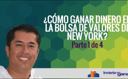 ¿Cómo Ganar Dinero En La Bolsa de Valores de New York? Parte 1 de 4