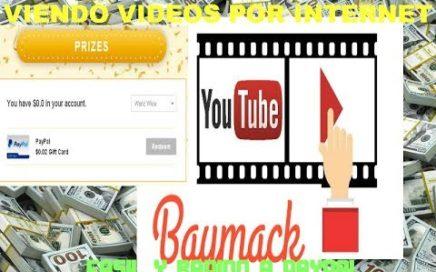Como Ganar Dinero En PAYPAL Facil y rapido viendo videos GRATIS