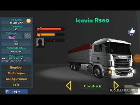 Como ganar dinero facil en gran truck simulador sin conducir!! Lucijuega272