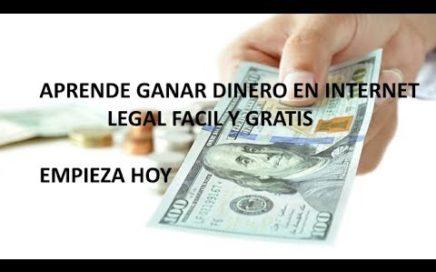 Como ganar dinero legal en internet !