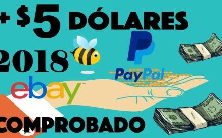 Como GANAR DINERO Por Internet Gratis 5 dolares DIARIOS, MEJORES PAGINAS 2018 | MÉTODO REAL