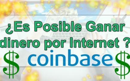 Como ganar dinero por internet + mini tutorial trading coinbase