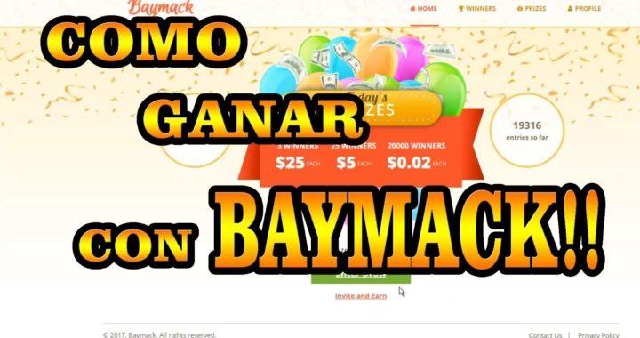como ganar dinero rapido (Baymack)