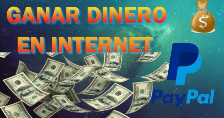 COMO GANAR DINERO RÁPIDO Y FÁCIL EN INTERNET CON PAYPAL!!!