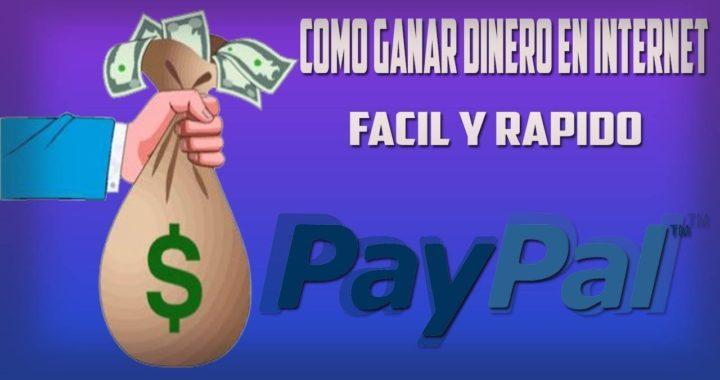 COMO GANAR DINERO REAL RAPIDO! +300$ 1 hora  REAL NO FAKE