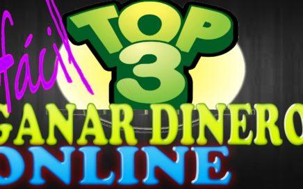Como Ganar  Dinero Top 3 Ganar Dinero Online Desde Casa Para tu cuenta Paypal|Quiero Dinero