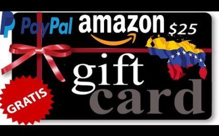 Como ganar giftcard de amazon y de paypal gratis  desde Venezuela