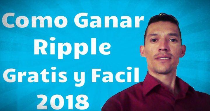 COMO GANAR RIPPLE FÁCIL Y RÁPIDO | ES HORA DE COMPRAR RIPPLE ? | ESTOY A TIEMPO DE INVERTIR ?