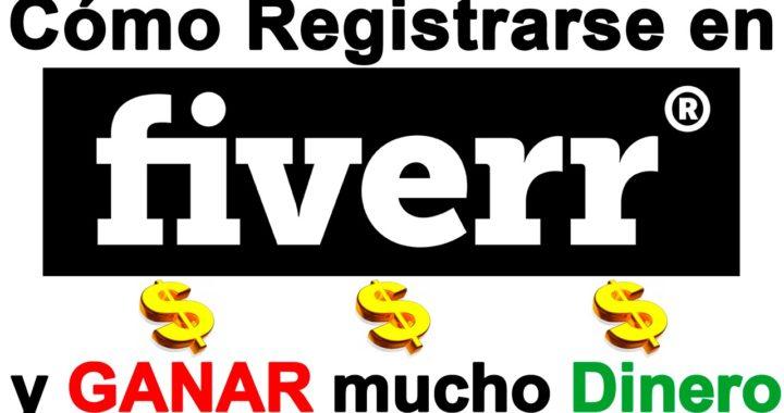 Como Registrarse en FIVERR y Ganar Dinero