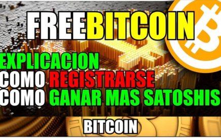 Como registrarse en Freebitcoin | Como funciona + Propuesta | ganar bitcoin gratis