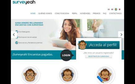 Cómo registrarte en Surveyeah (Gana dinero con encuestas)
